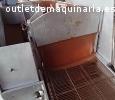 Bañadora de chocolate por cascada