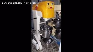 Batidora de 40 y 20 litros Mecnosud