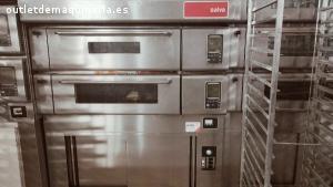 Horno pastelería Salva dos módulos